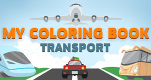 My Coloring Book: Transport Download